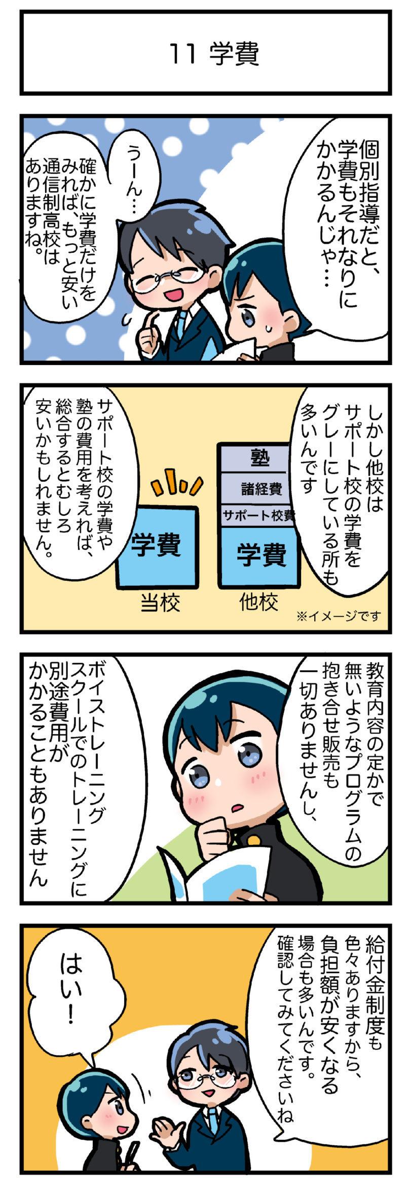 通信制高校・東京ボイス校の学費は高いのか安いのか