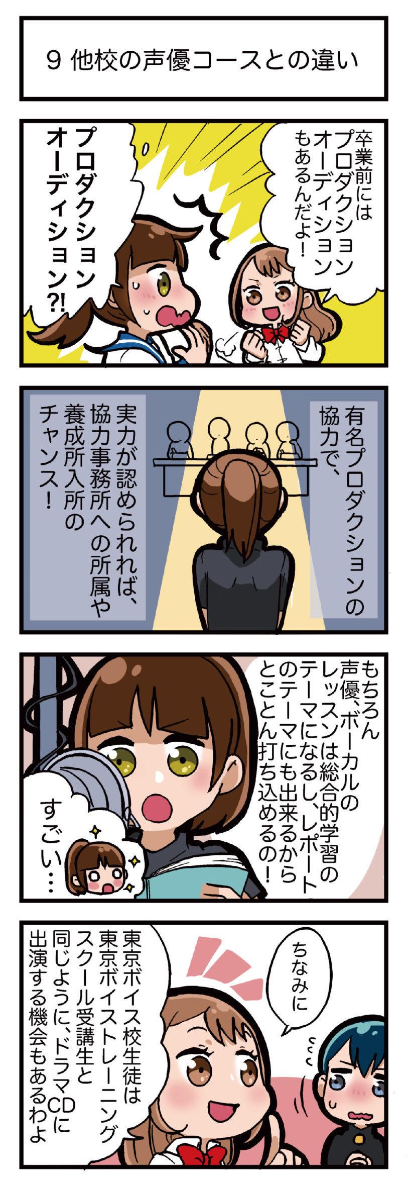 通信制の精華学園高校東京ボイス校の声優コースはプロも通う本格派だった